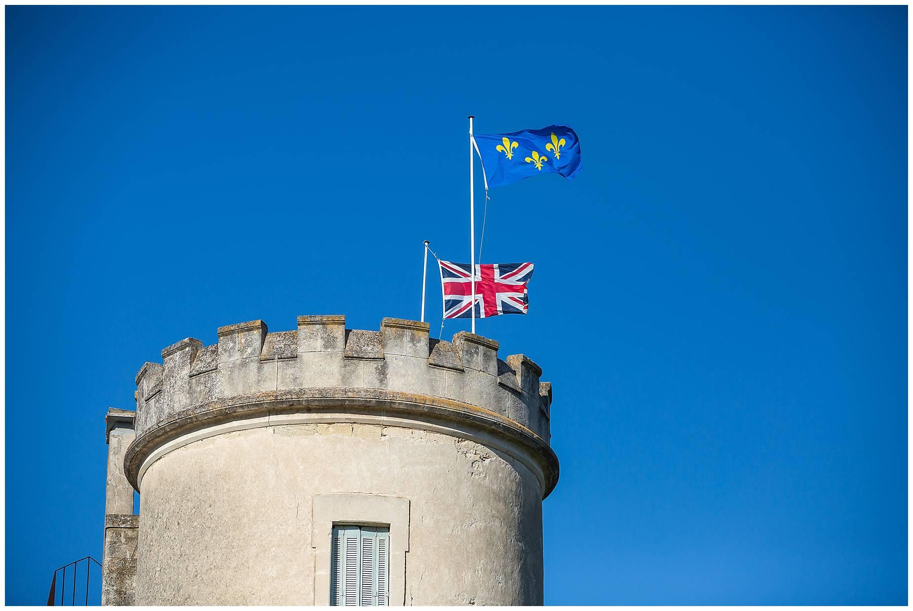 Chateau de Pouget flag