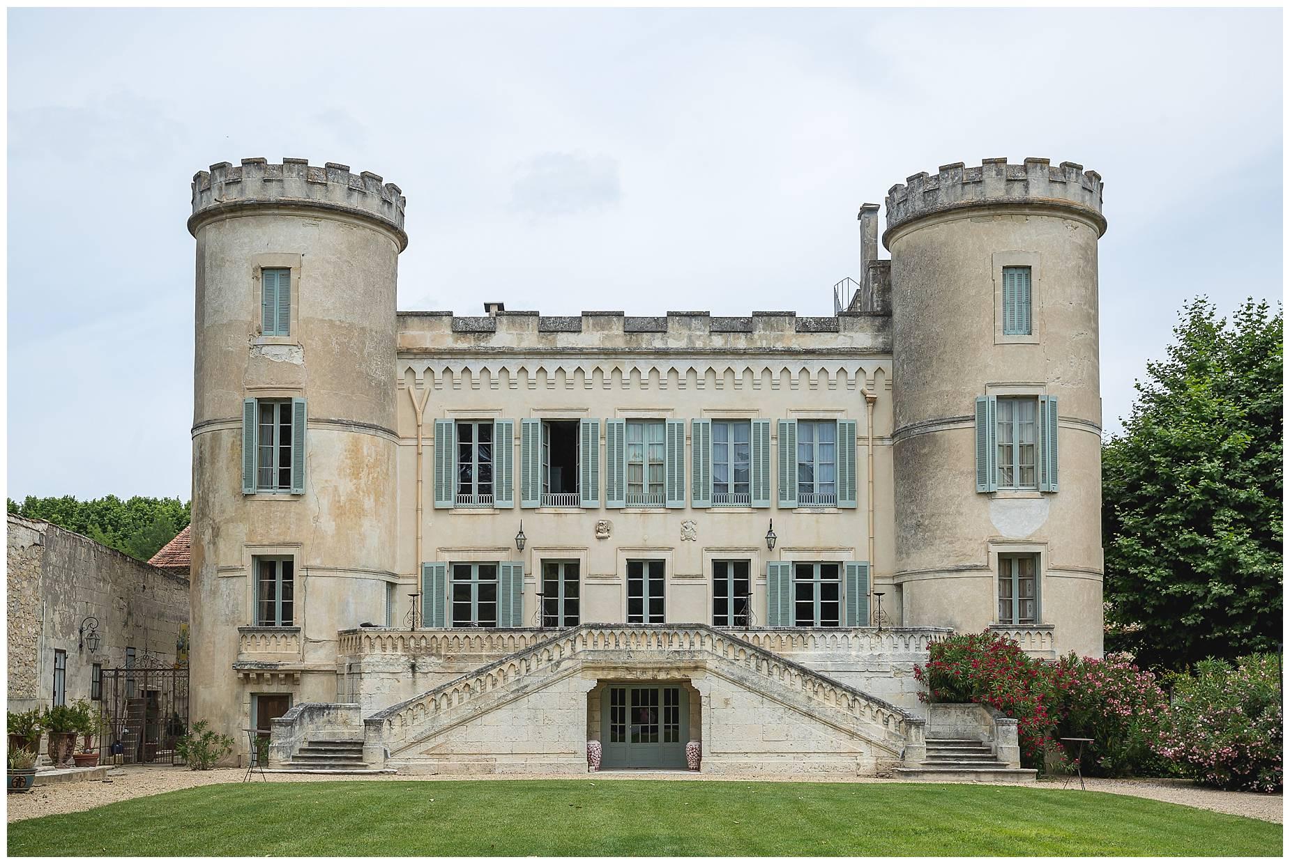 Chateau de Pouget mariage