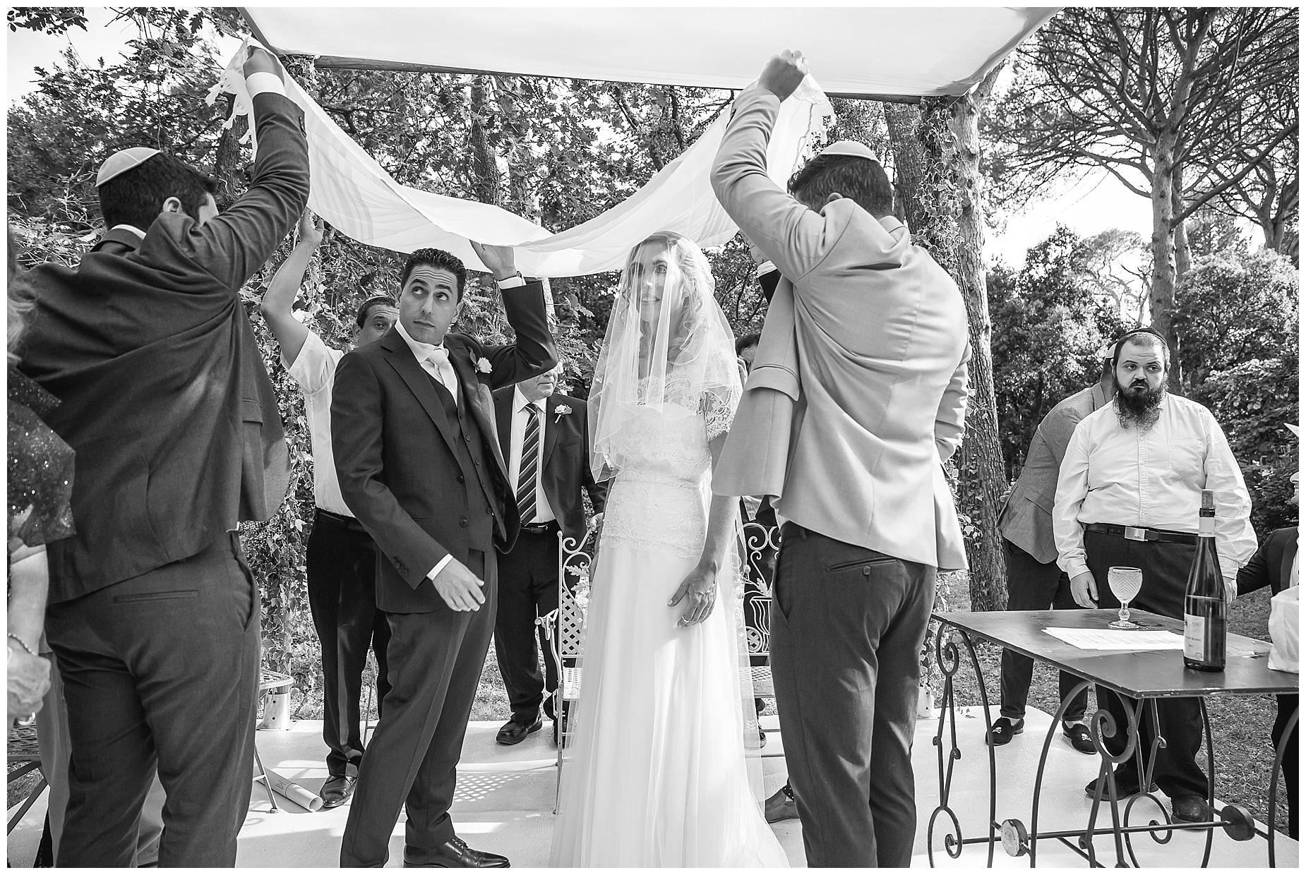 jewish wedding ceremony continues