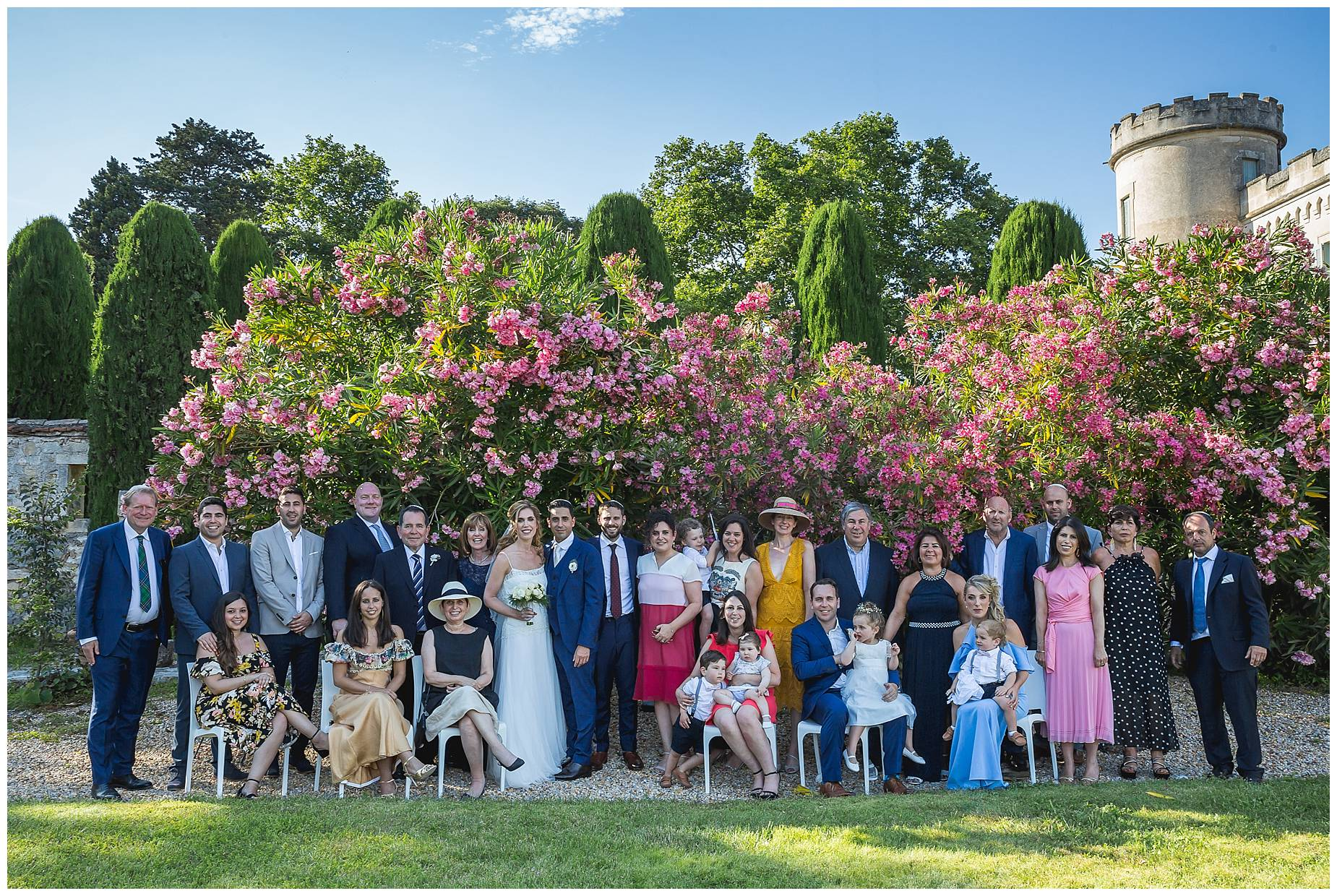 Chateau de Pouget wedding