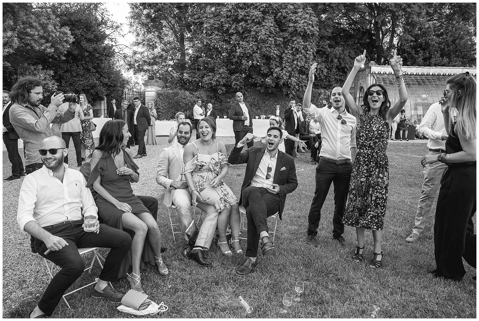 party time Chateau de Pouget