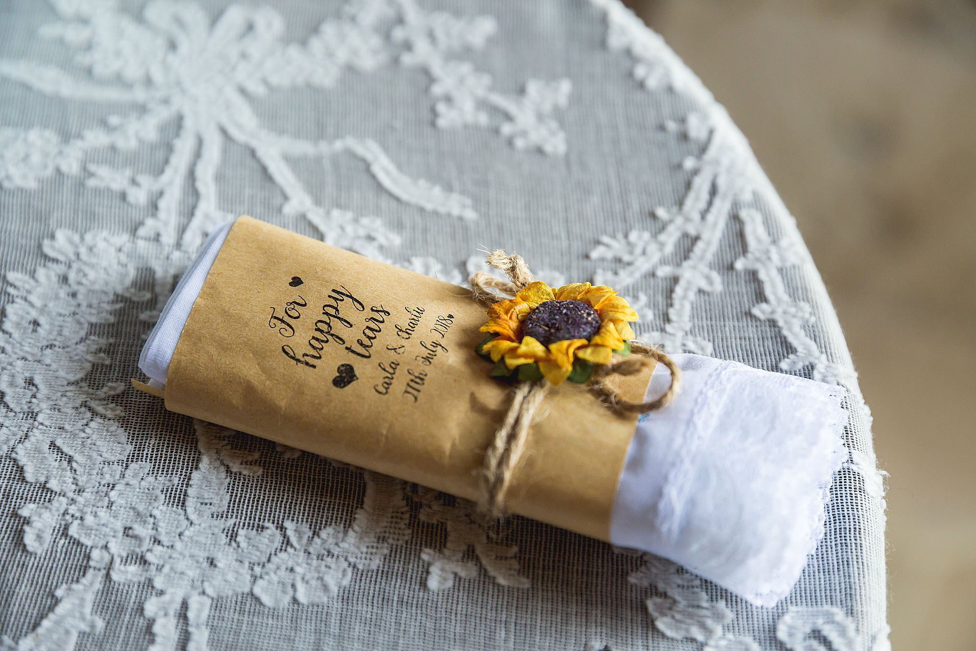wedding hanky