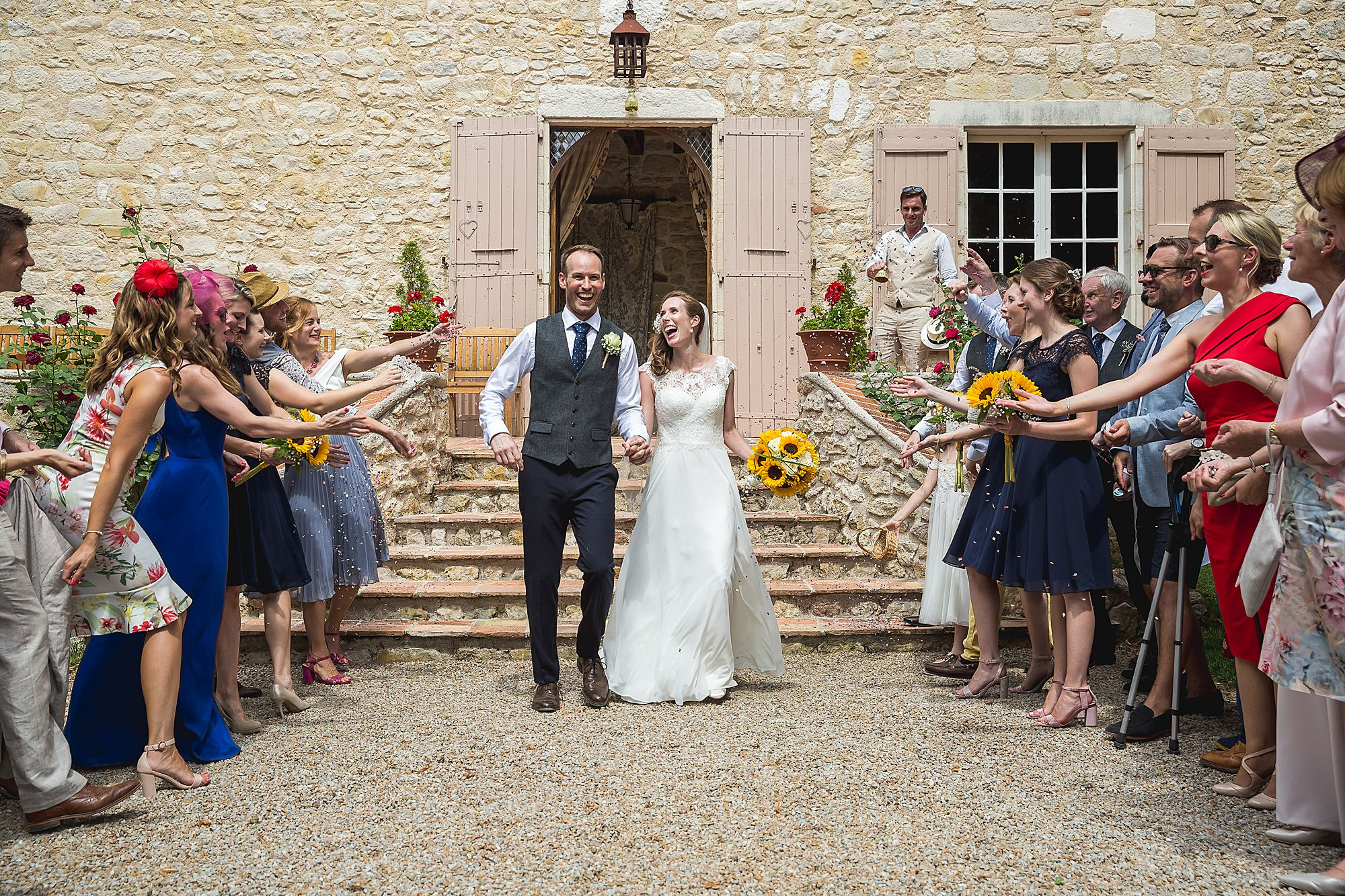 Chateau Brametourte wedding