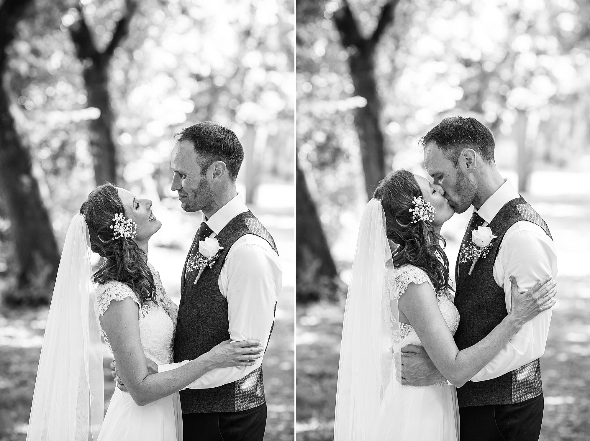 black and white pictures of brde and groom