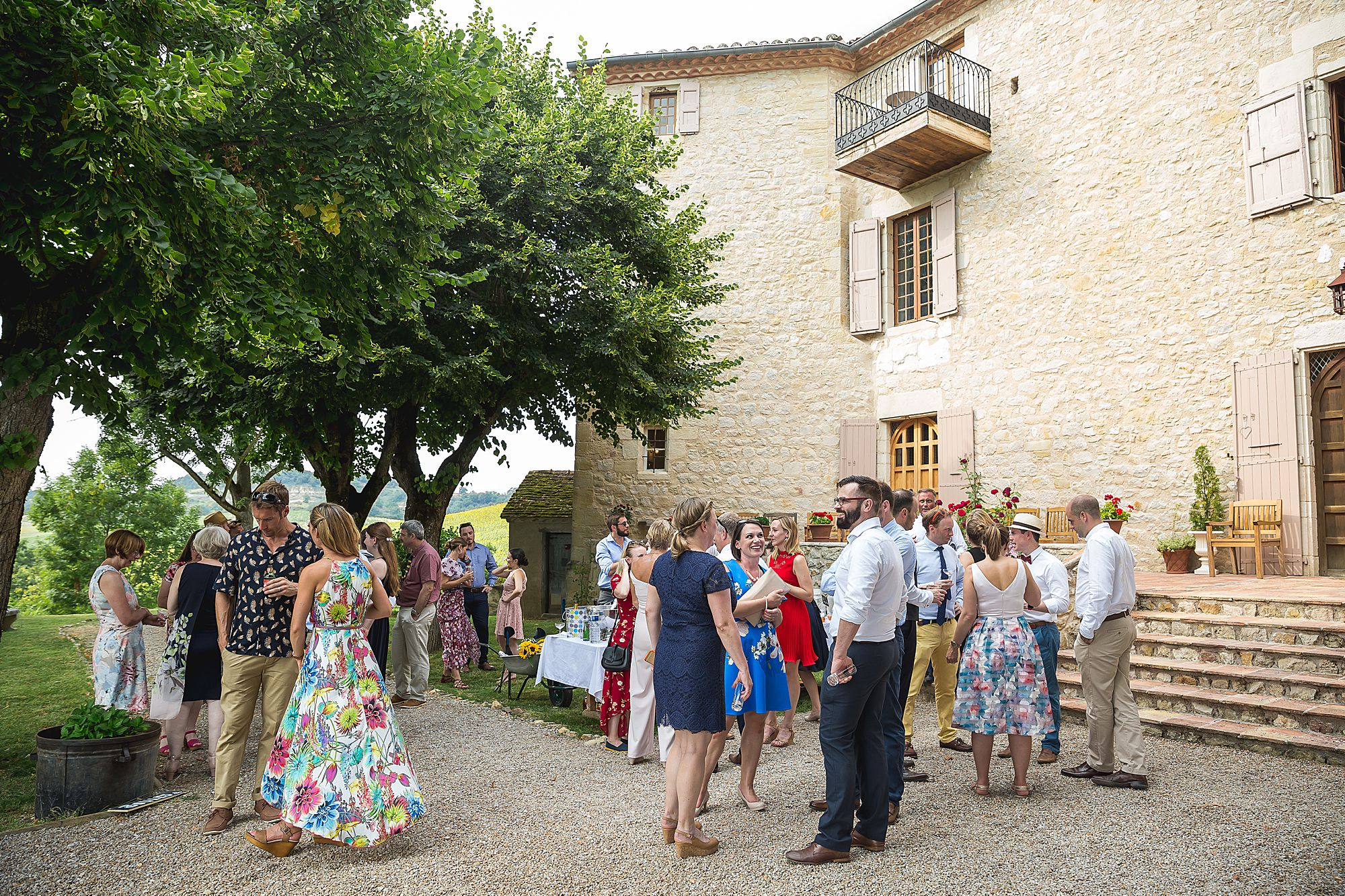 Chateau Brametourte guests