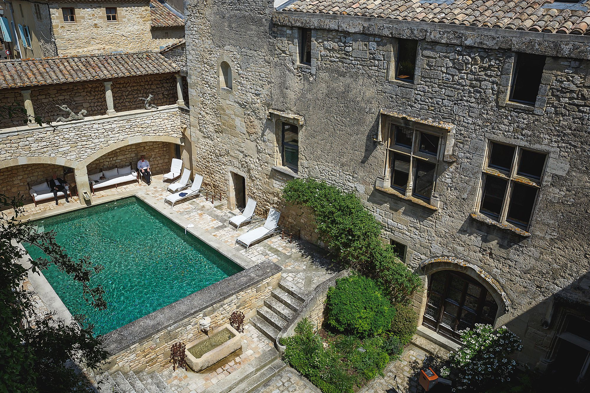 pool at Chateau Provence