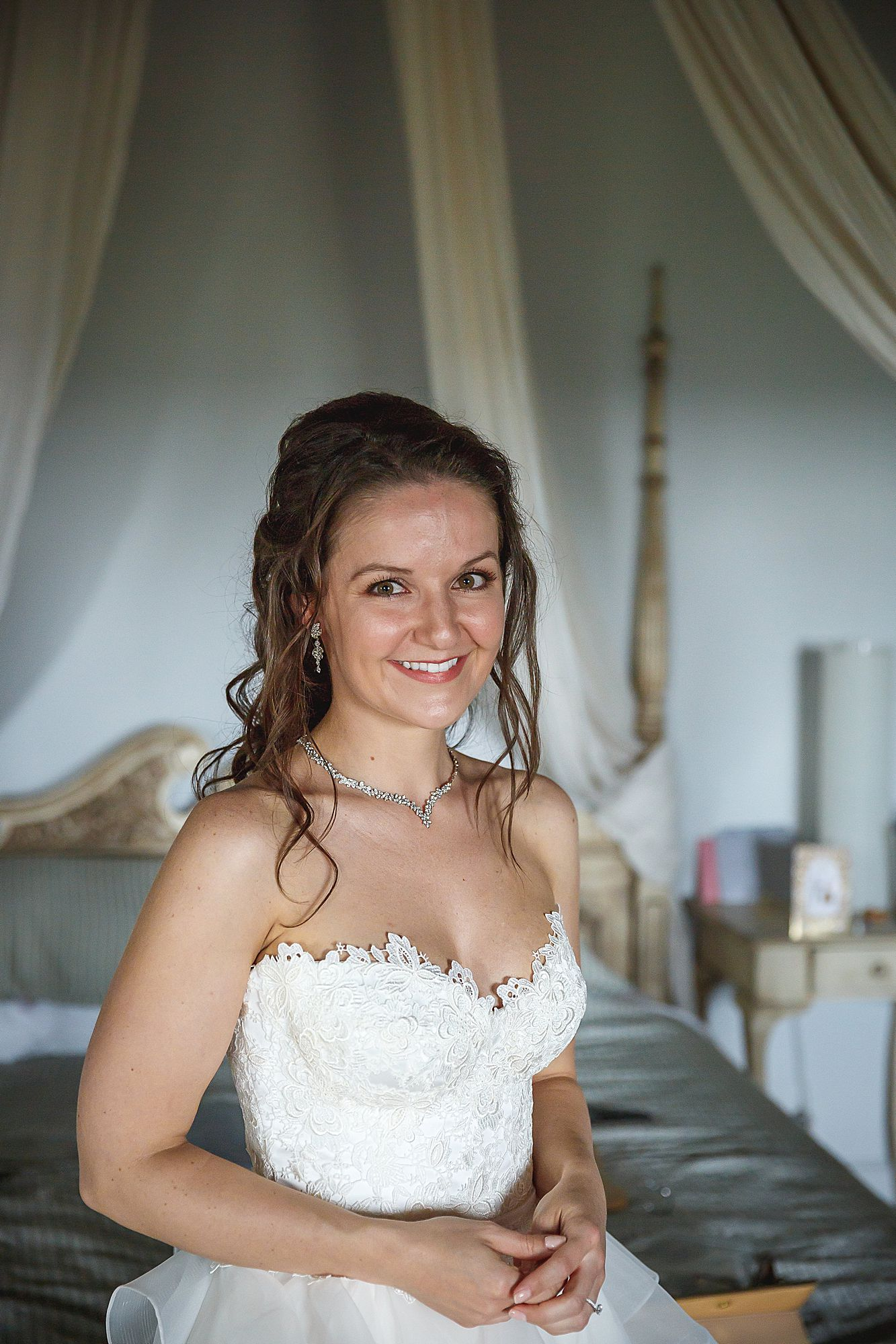 bride at Chateau Provence