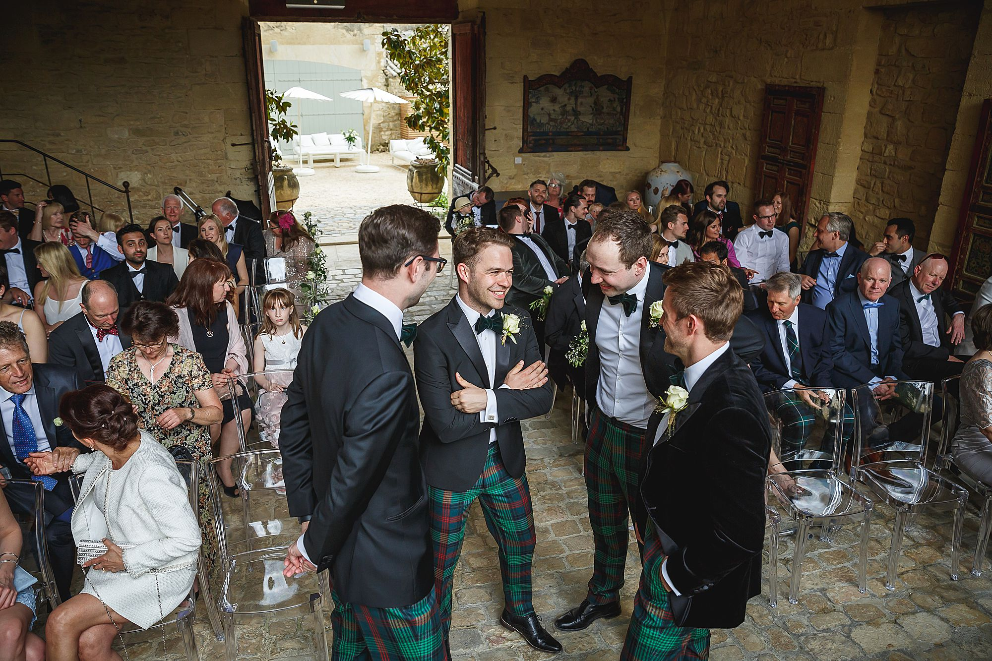 Chateau Provence wedding ceremony