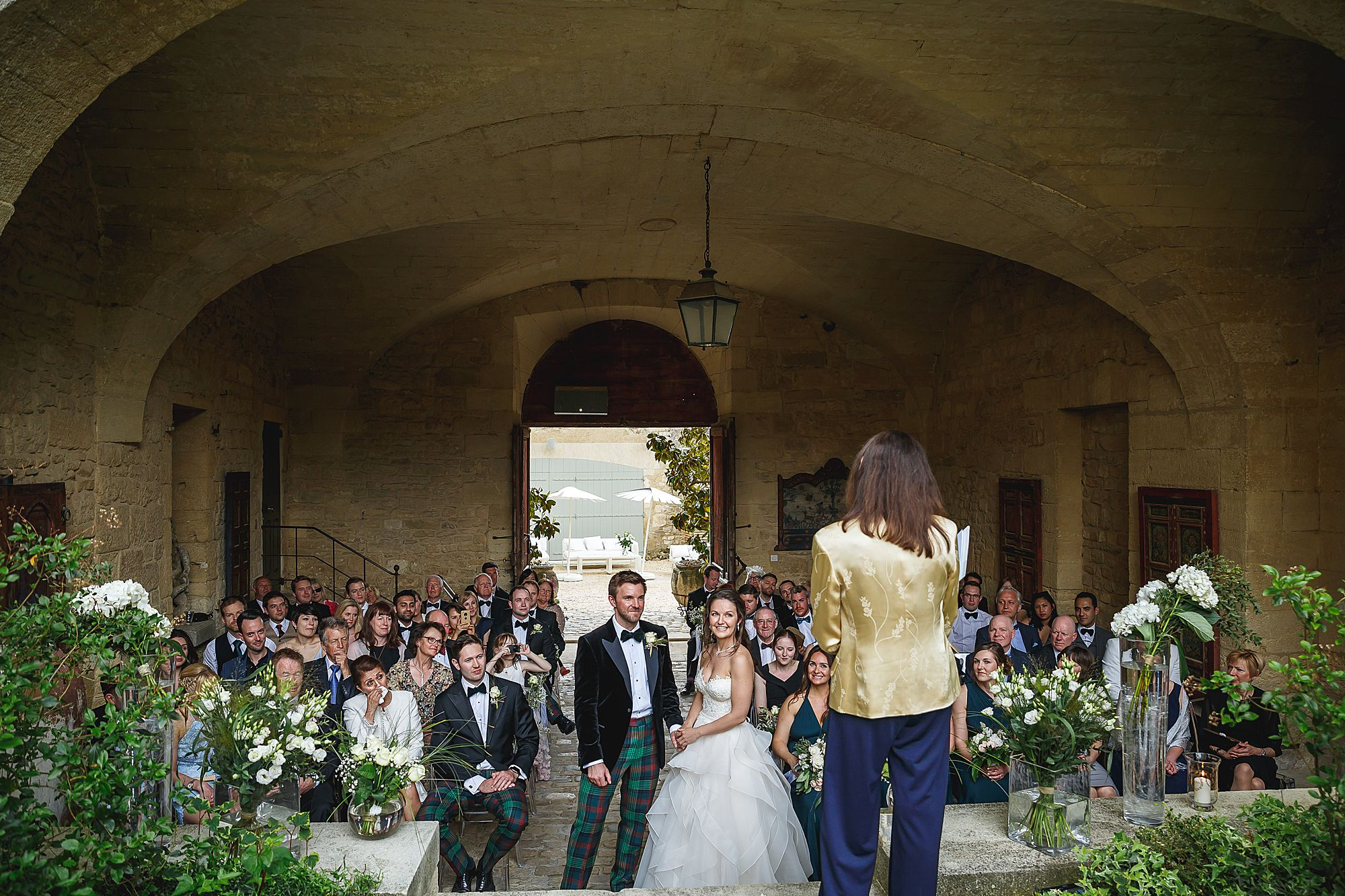 Chateau Provence wedding