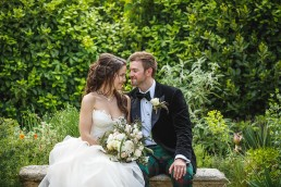 Chateau Provence wedding bride and groom pictures