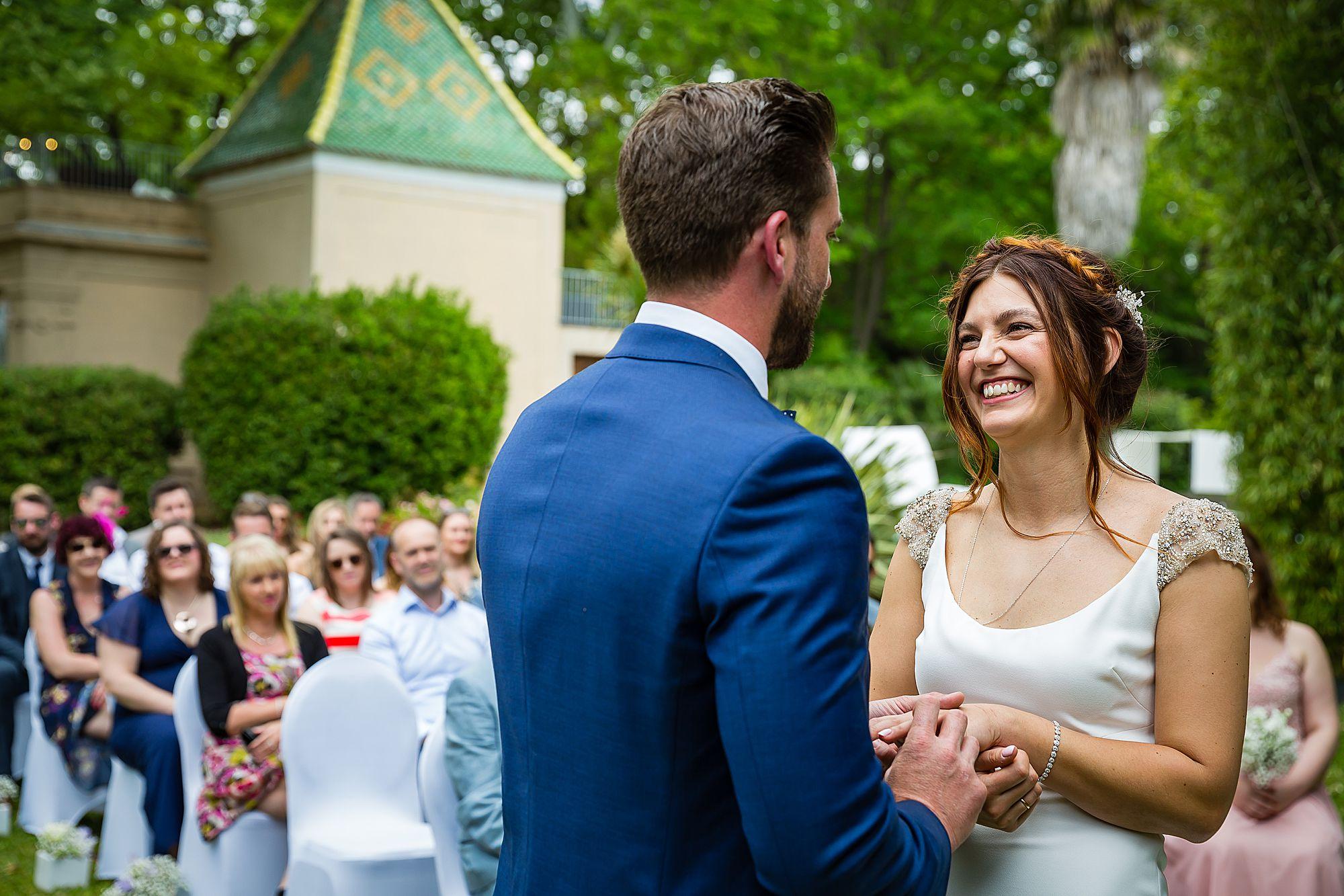 wedding ceremony Chateau Rieutort