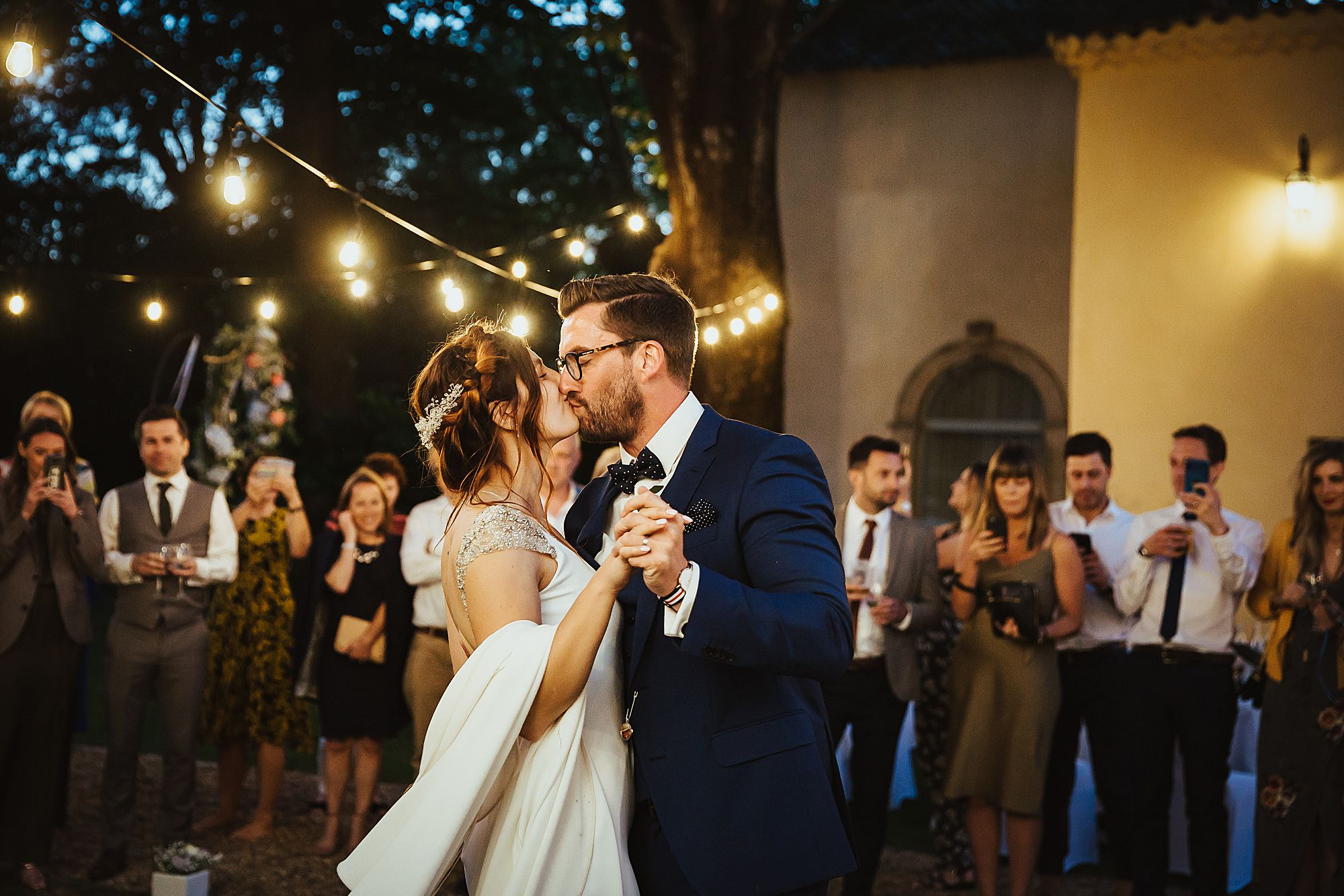 Chateau Rieutort wedding dancing