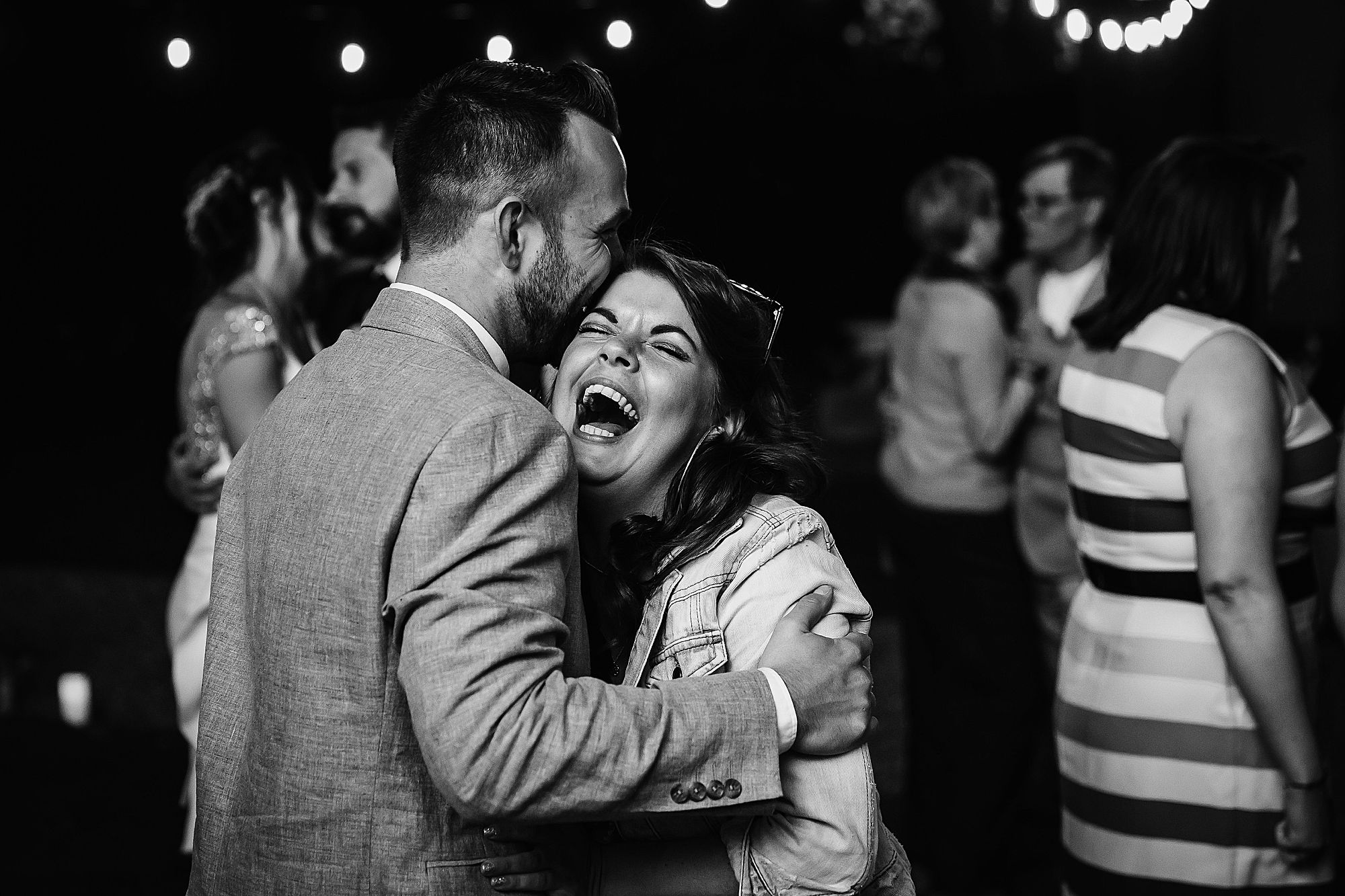Chateau Rieutort wedding laugh