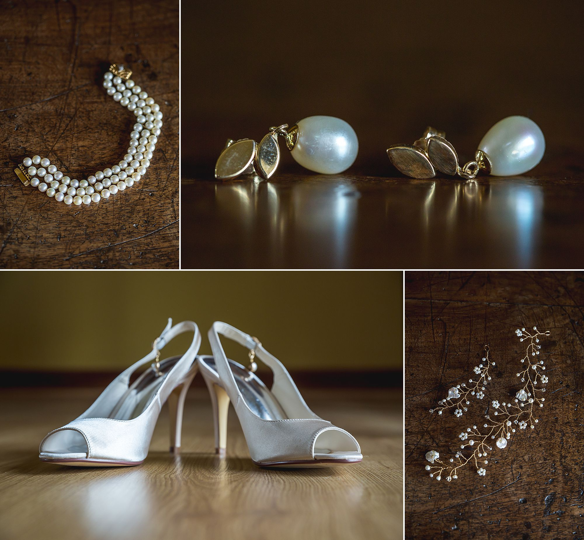 jewellery shoes at Domaine Gayda wedding