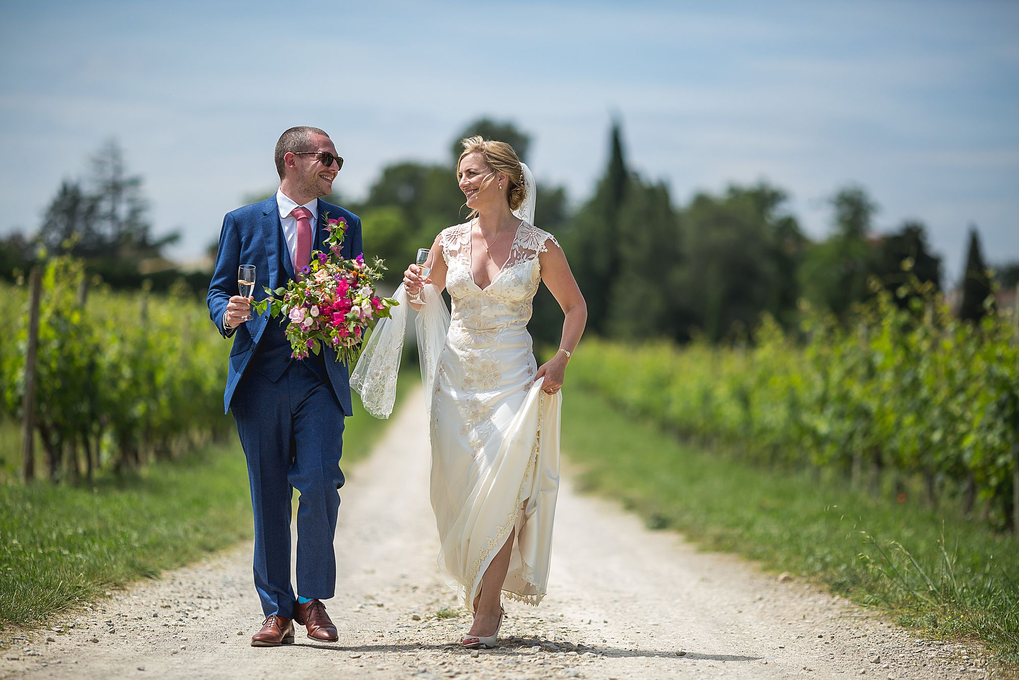 Domaine Gayda wedding in the south of France