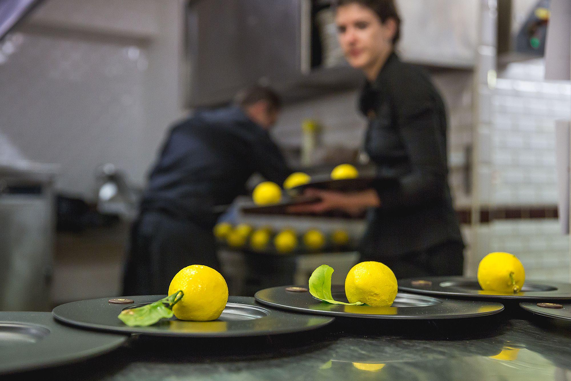lemon sorbet south of France