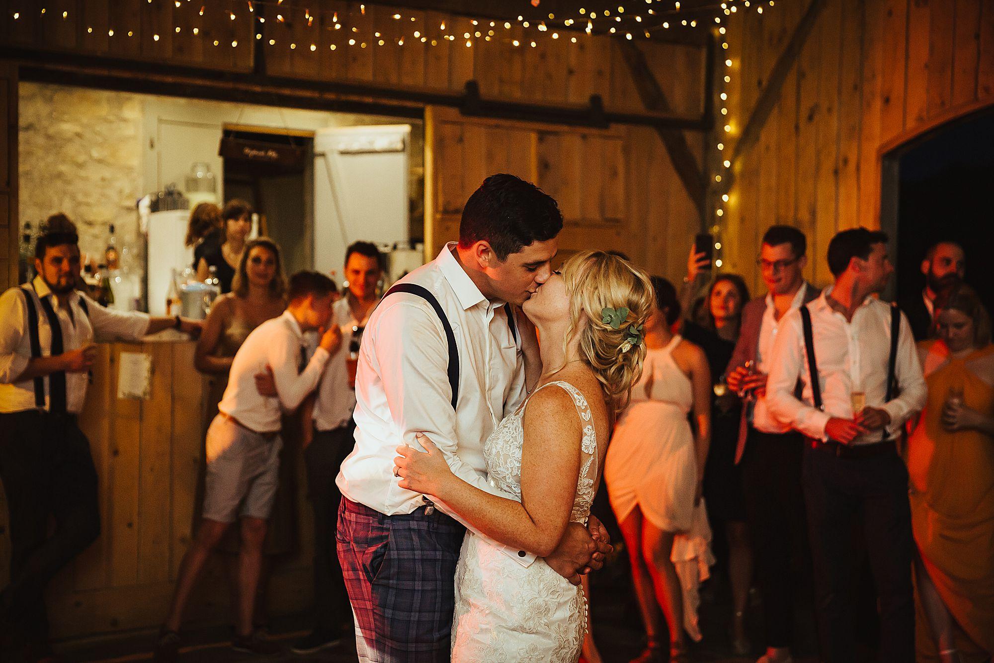 Chateau de Queille Wedding first dance