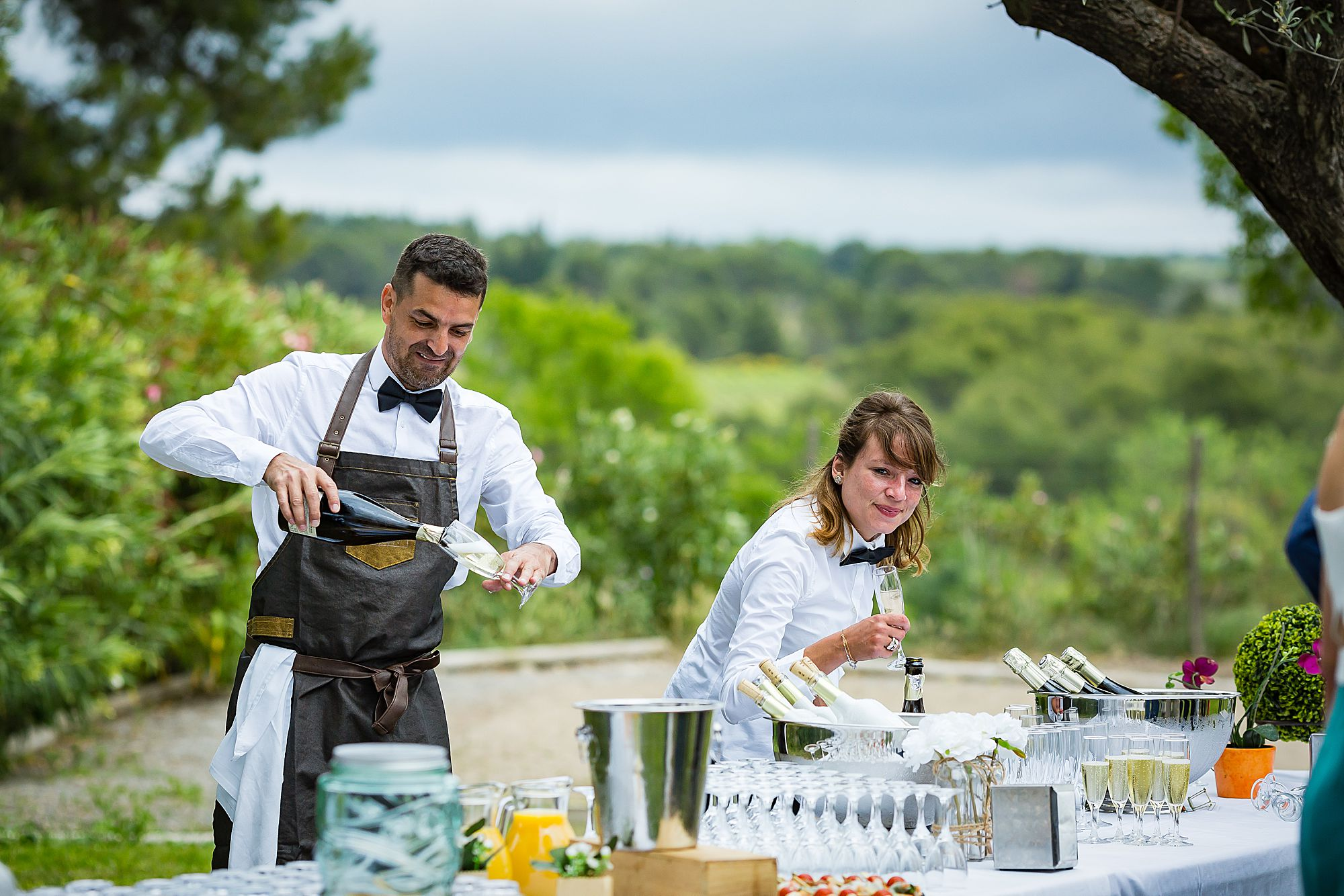 Domaine de la Grangette wedding caterer