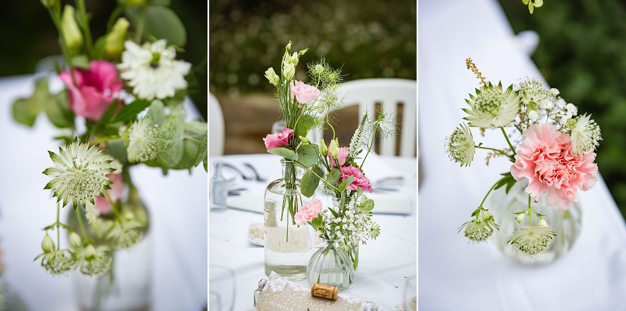 Domaine de la Grangette wedding flowers