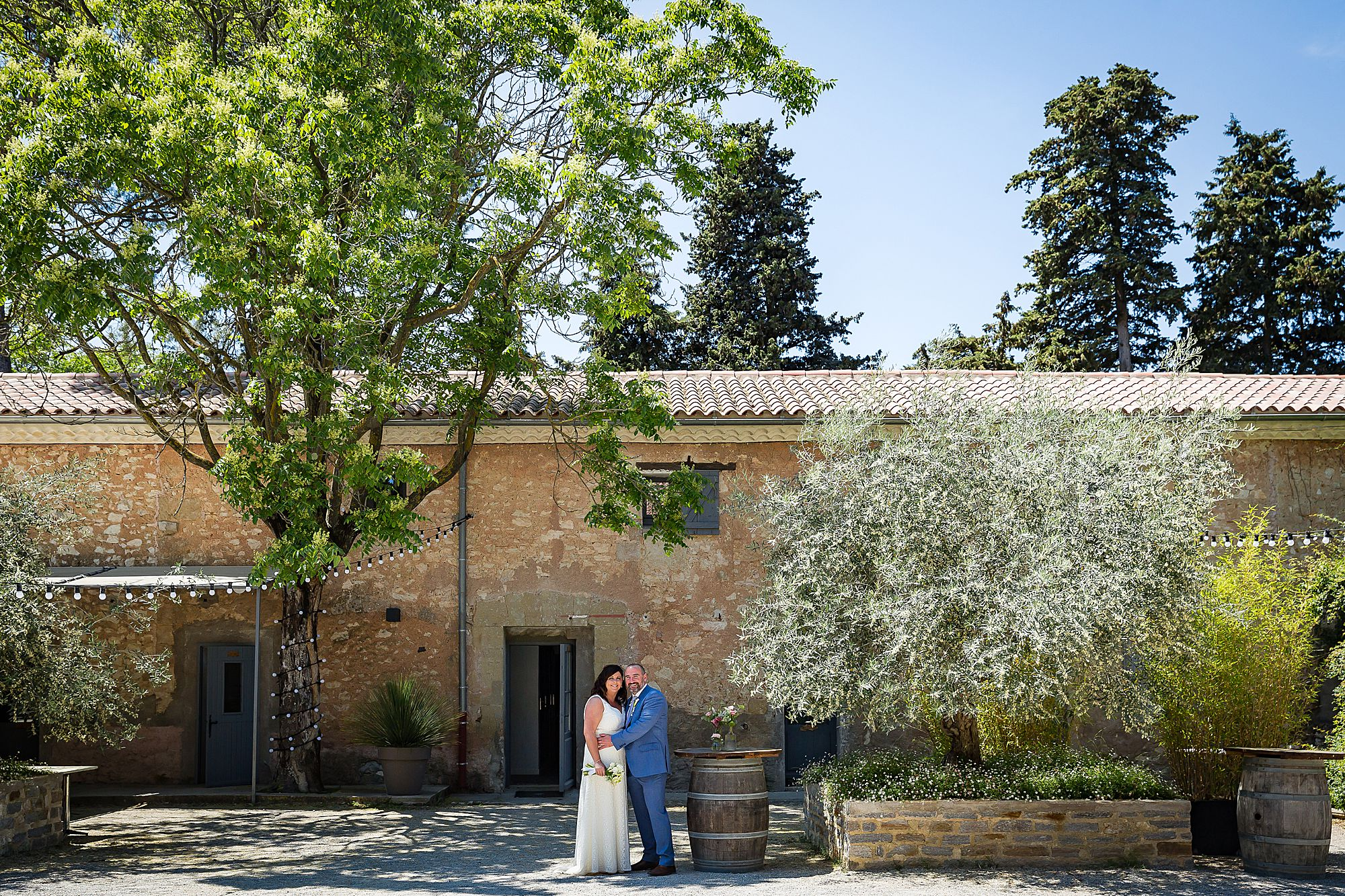 Domaine de la Grangette wedding photographer