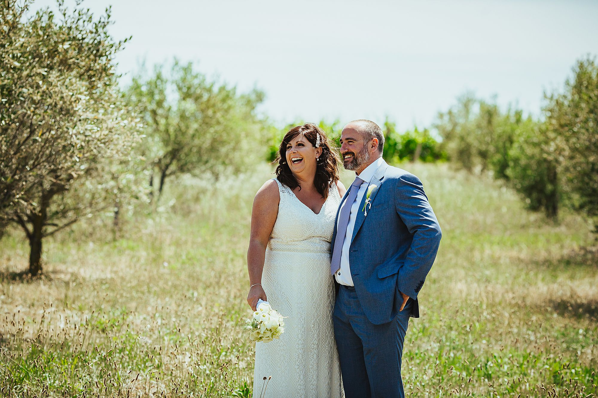 olive grove wedding photos
