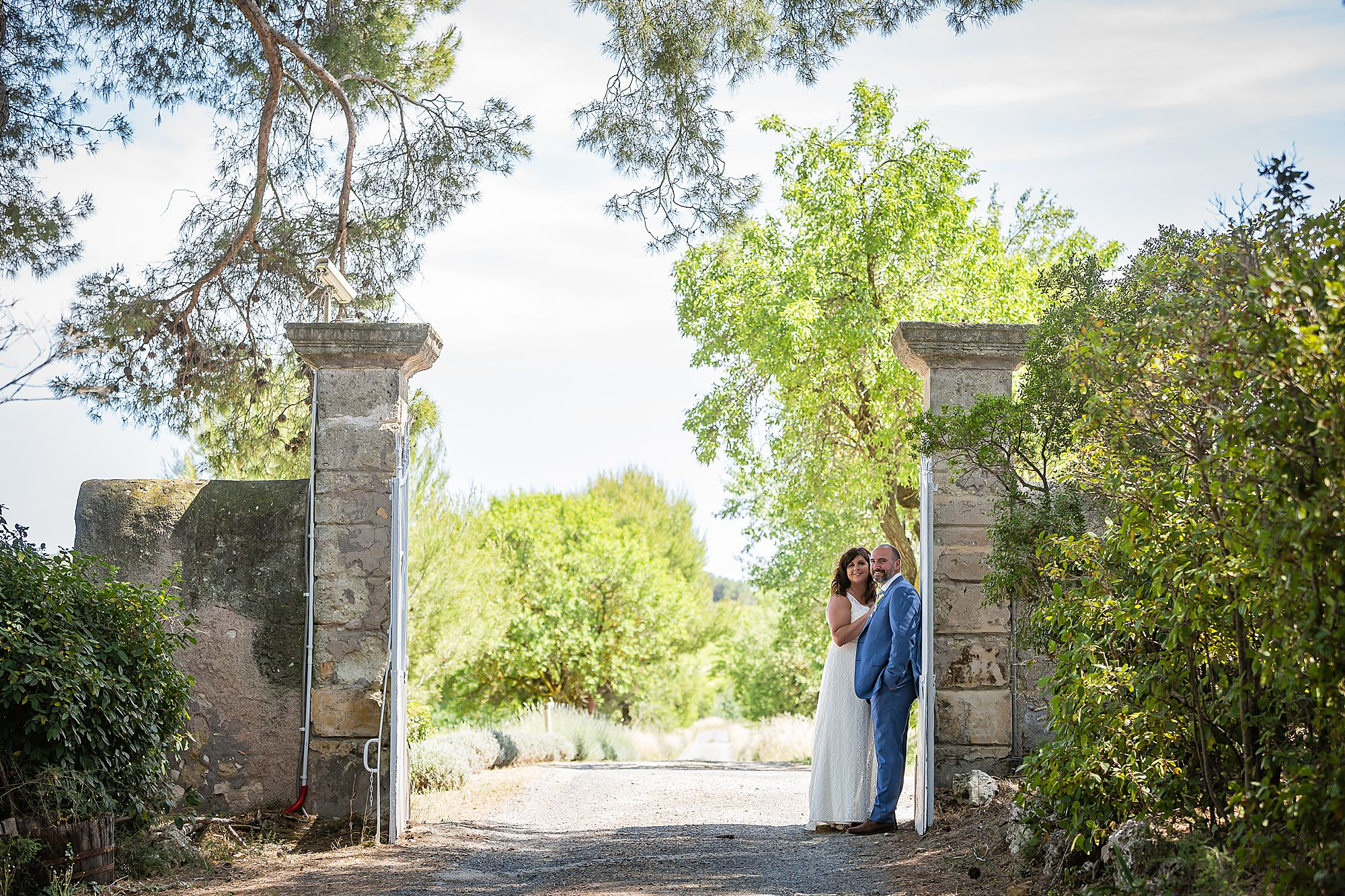 wedding photography at Domaine de la Grangette wedding