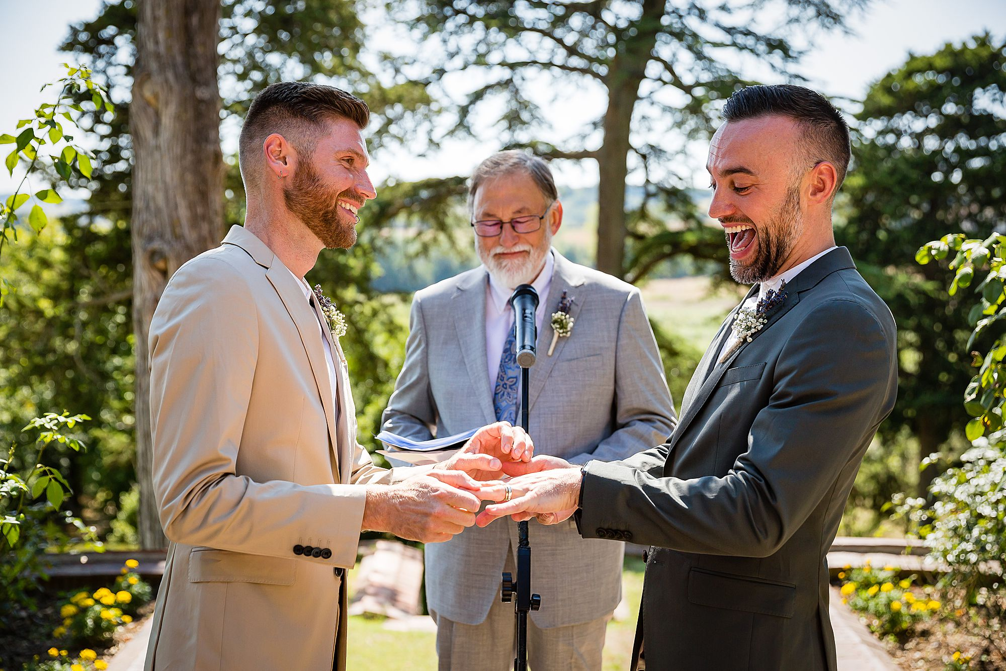 gay wedding in France ceremony