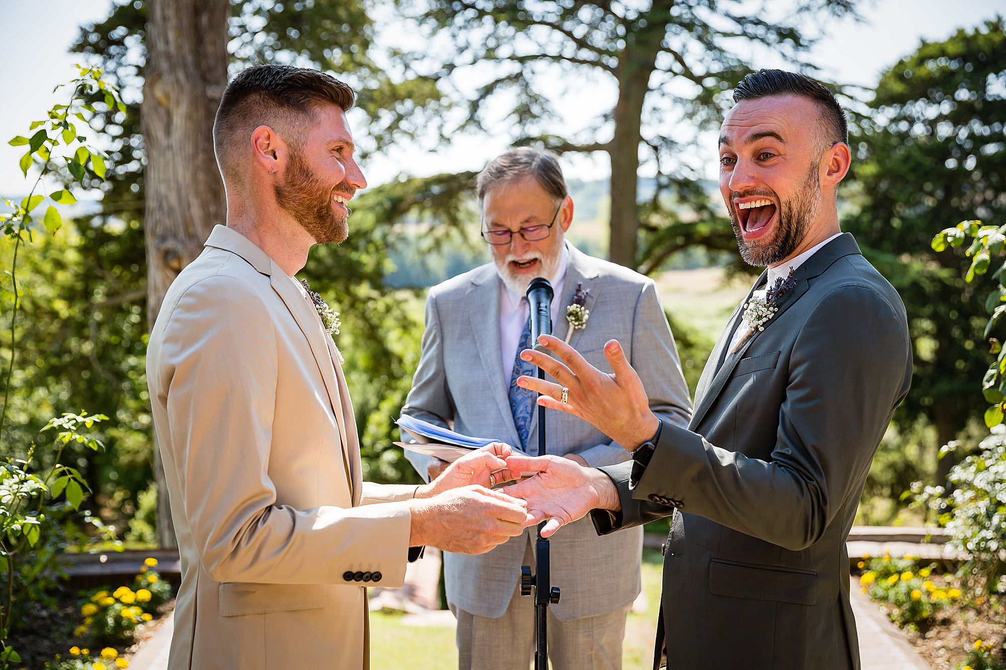 same sex wedding France