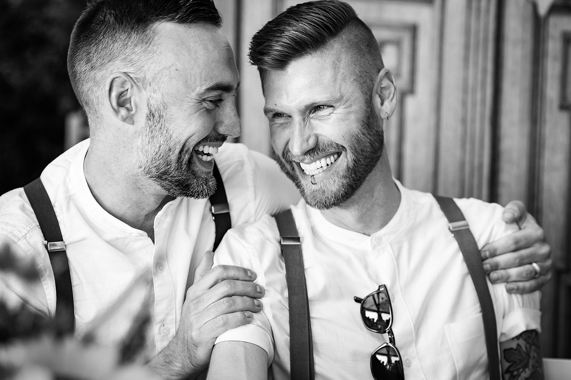 gay wedding in south of France