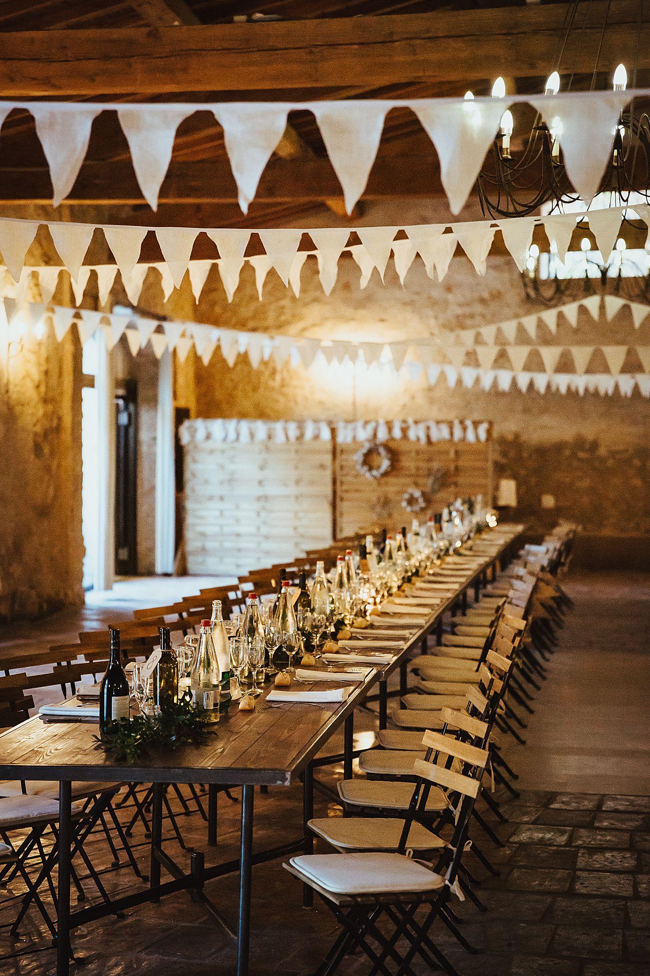 Domaine Fon de Rey Wedding reception mariage