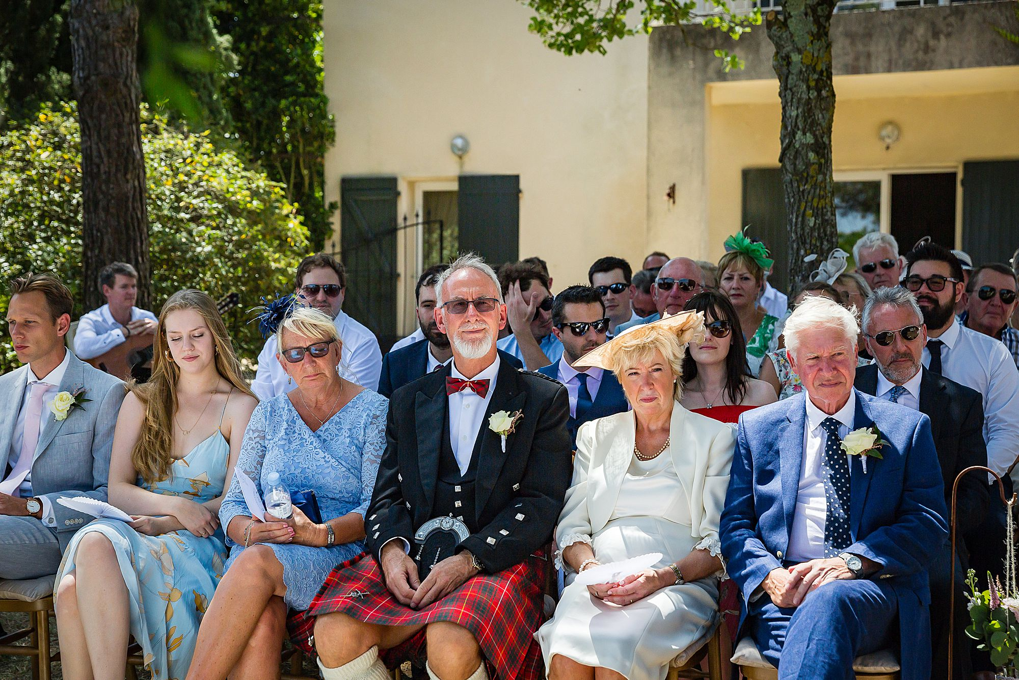 family watch Domaine Michaud Wedding