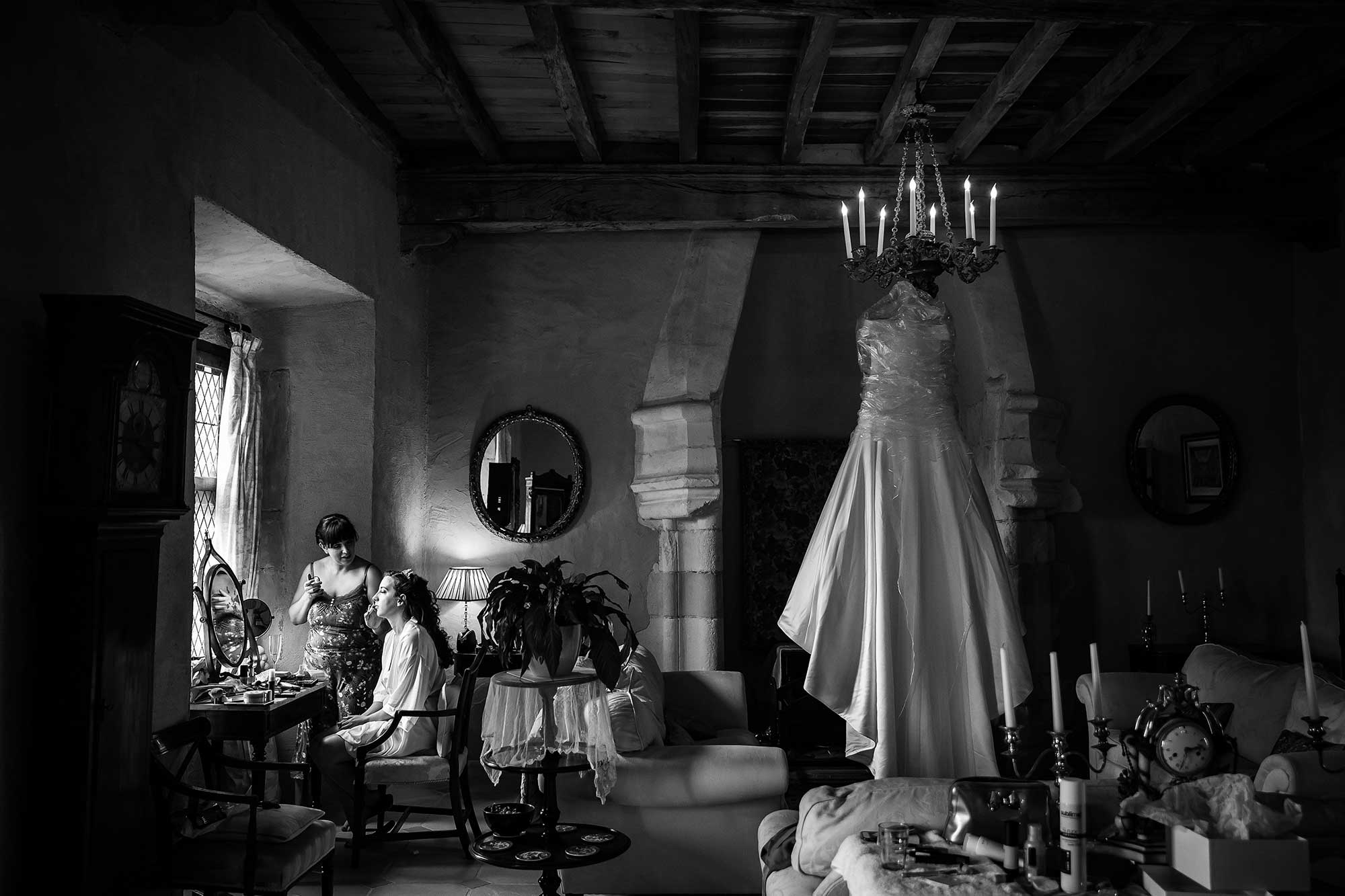 chateau de brametourte wedding