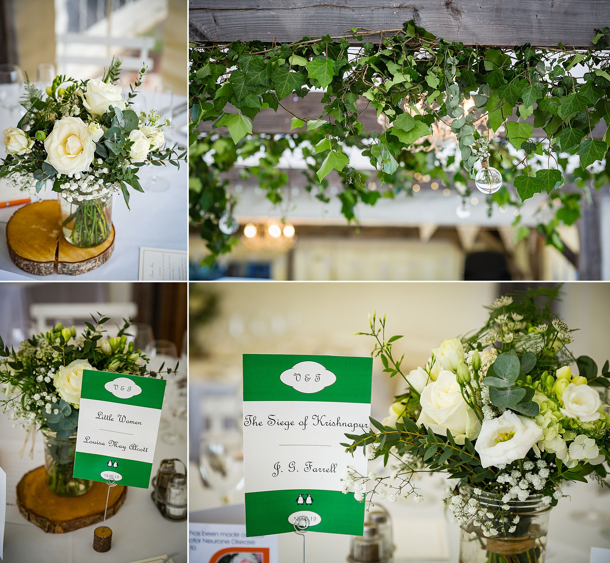 Chateau de Brametourte wedding tables book inspired