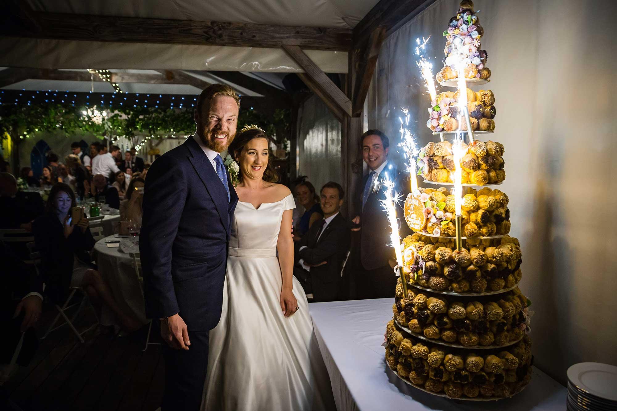 Chateau de Brametourte cake