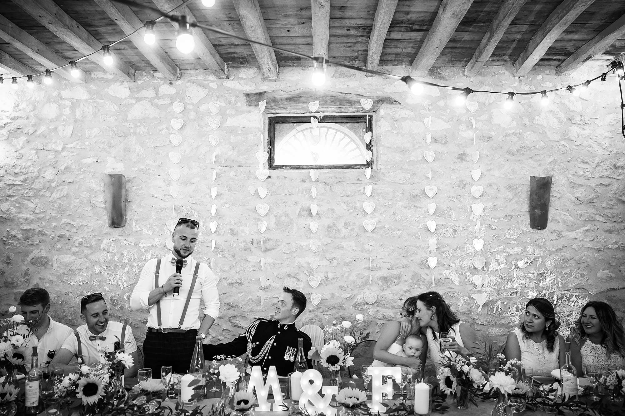 Domaine le Castelet wedding speeches