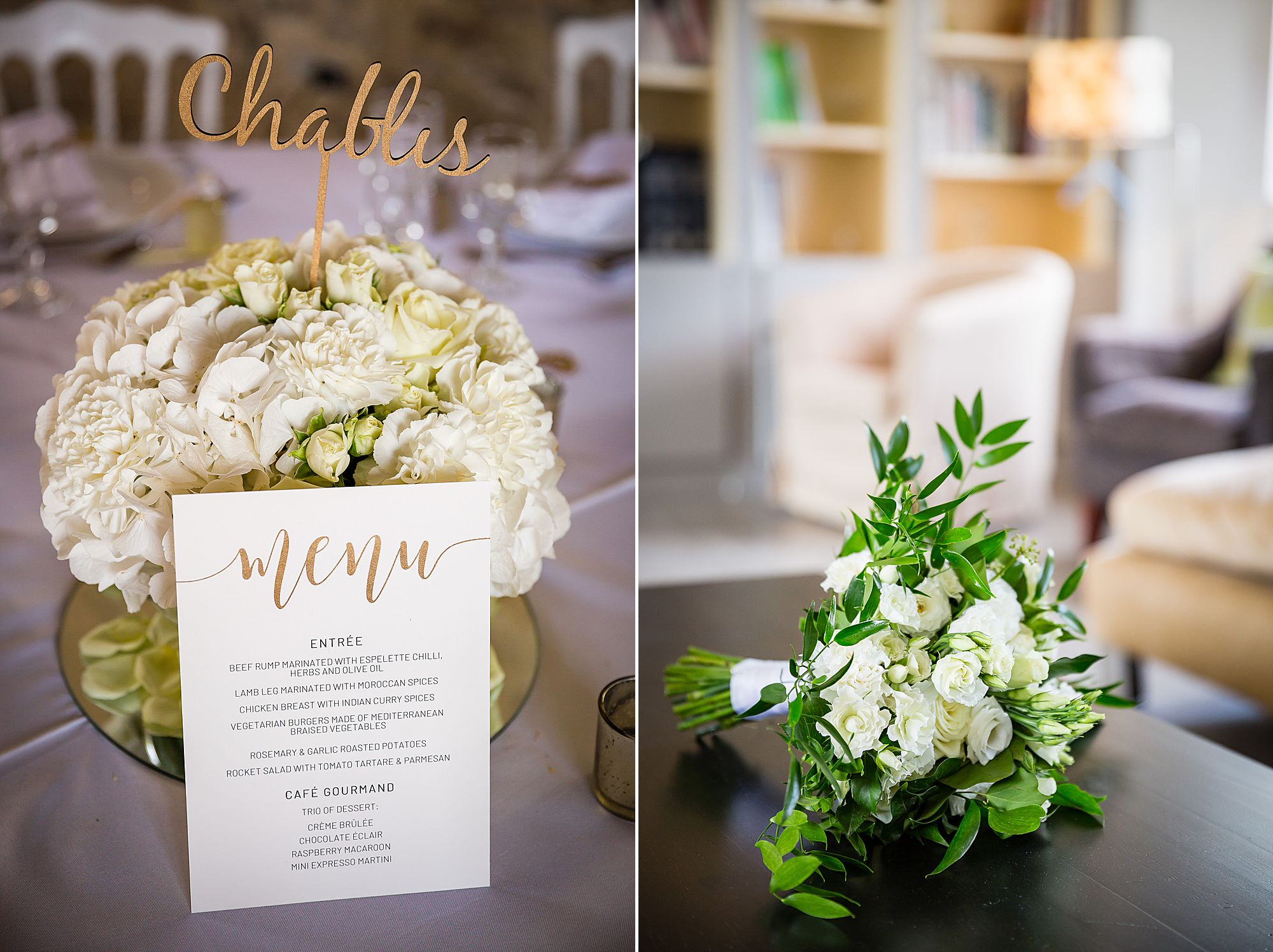 flowers by faustine and white bouquet