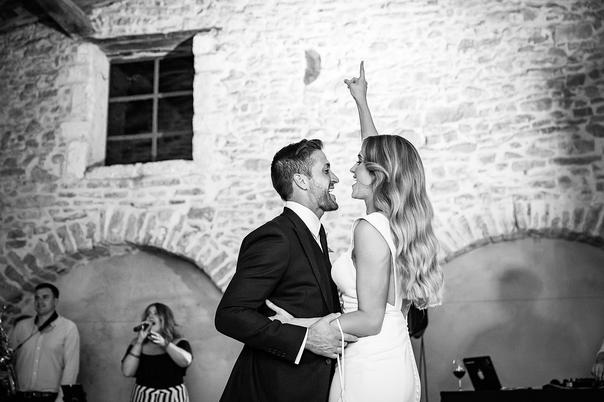 first dance at Arles Wedding