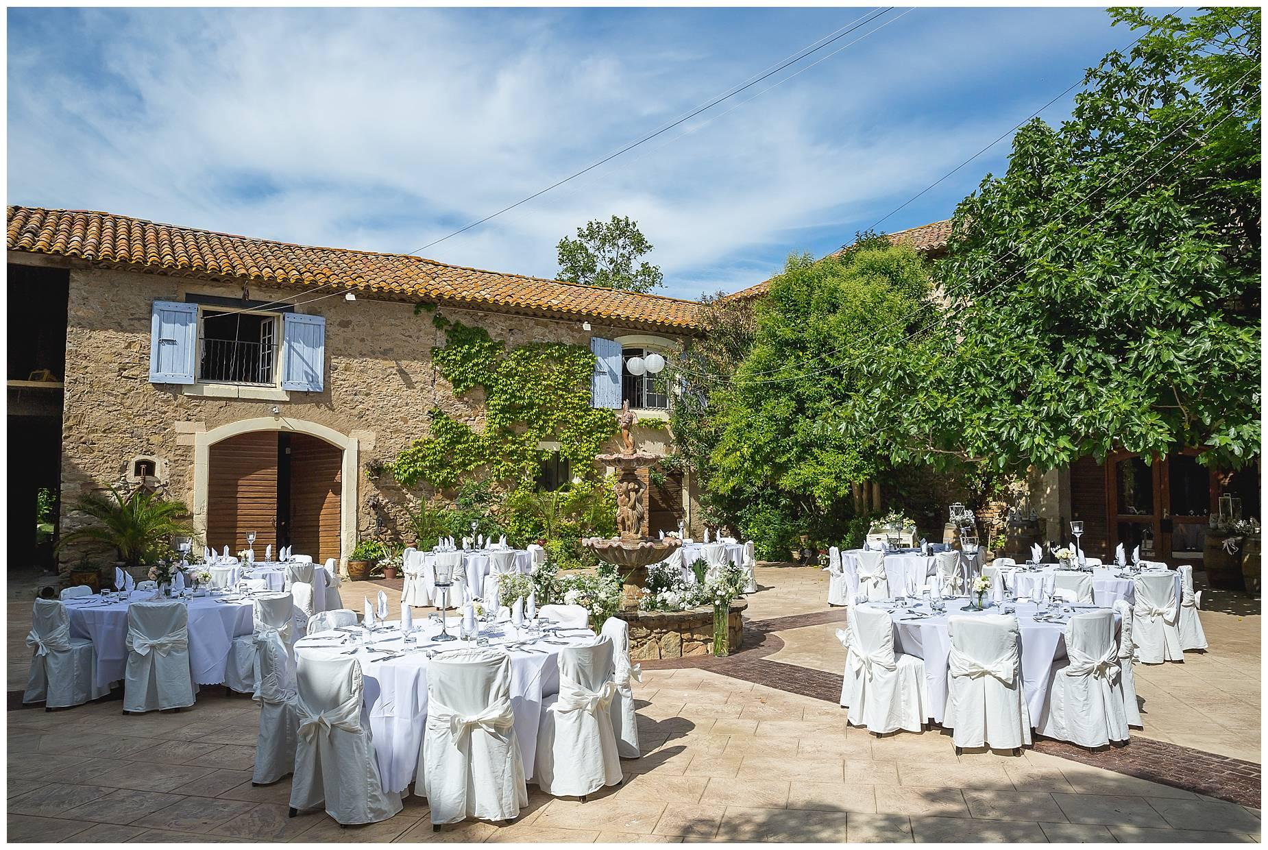 Château du Puits es Pratx wedding